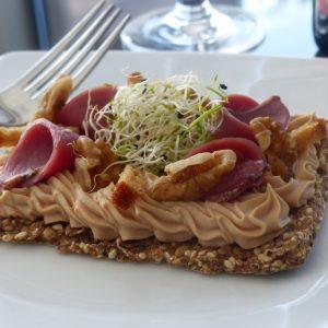 tarte fine Périgourdine