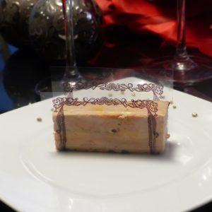 foie gras maison aux algues